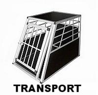 Cage de transport voiture pour chien