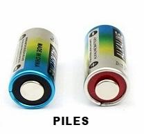Piles 4LR44 6V pour collier anti-aboiements, collier de dressage et collier anti-fugue