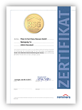 Grafik: Zertifikat RSG 2019-04 - Remmers System-Garantie (RSG)