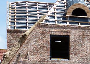 Foto: Bauprojekt vom erweiterten Rohbau über Maurer- u. Stahlbetonarbeiten / Ihr Bauunternehmen in Nordfriesland u. auf Sylt