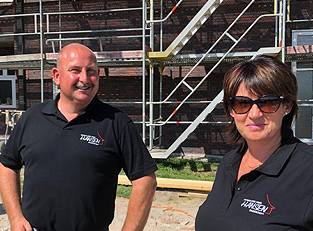 Foto: Gabi & Jan Hansen - BAUGESCHÄFT HANSEN in Klanxbüll / Ihr Bauunternehmen in Nordfriesland und auf Sylt
