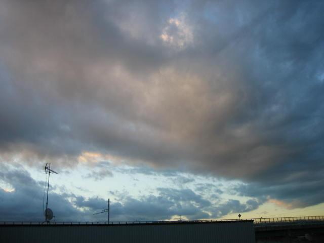 2013-11/12~屋上からの景色です。