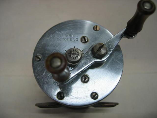 サウスベンドのダイレクトリールです。下部は溶接してありますが、上質ハンドル付き¥7700