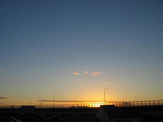 2013-11/16~屋上からの景色です。