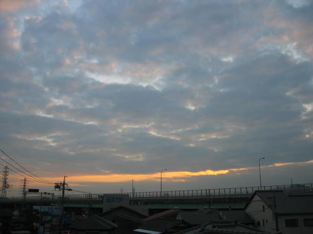 2013-11月6ー屋上からの景色