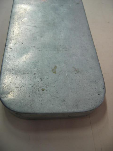 アメリカから輸入した使い古したあるみBOXです。綺麗に清掃してあります。