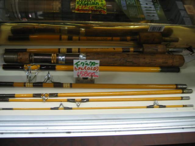 イーグルクロウのOLDー6PCパックロッドです。¥15800 ジョイントは全て金属フェルール仕様です。