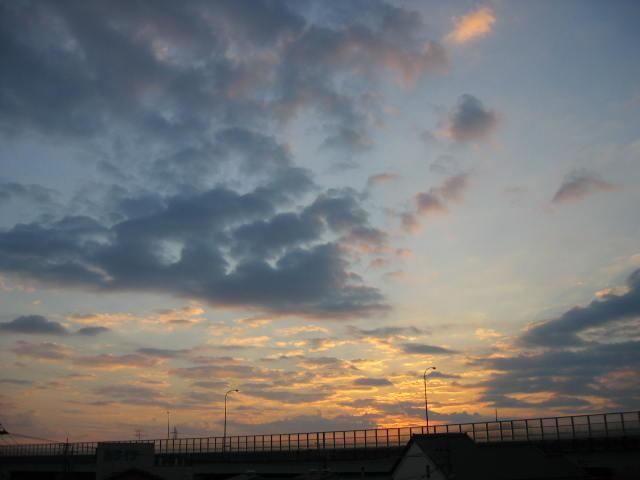 2013-11/17~屋上からの景色です。