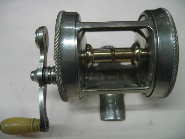 100年以上前のダイレクトリール・・・メイセルバチずっしりしていますが回転はいい!¥16800
