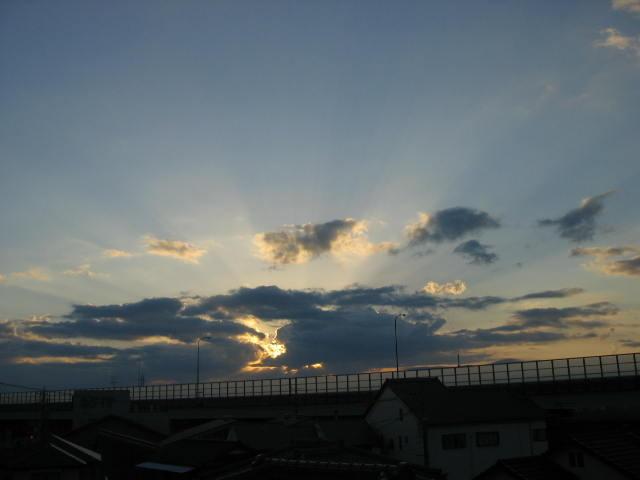 2013年10月27日台風明けの早朝です。