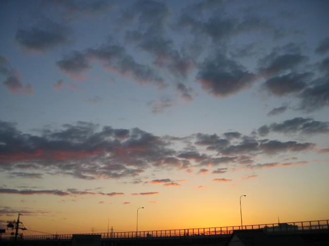 2013-11/14~屋上からの景色です。