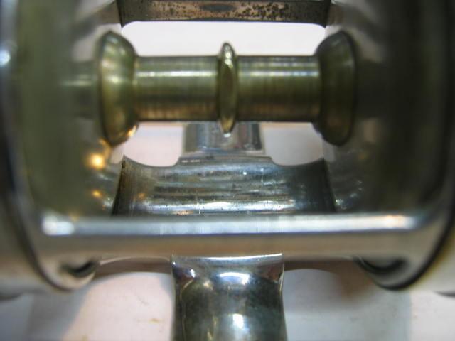 超古いダイレクトリール、メサチバNO,580 心地よいスムースな回転です。¥18000