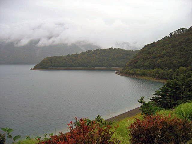 初秋の本栖湖