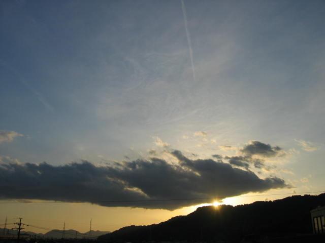 2014-3/6の夕焼けです。
