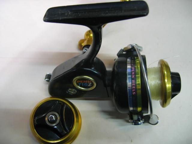 替えスプール付きのPenn716Z(インスプール)、管釣り、渓流にベストな大きさです。¥25000