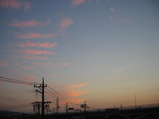 2013-10月31~屋上からの景色