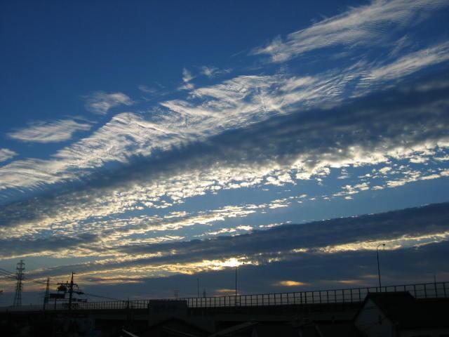 2015-10月12日の早朝の景色です。