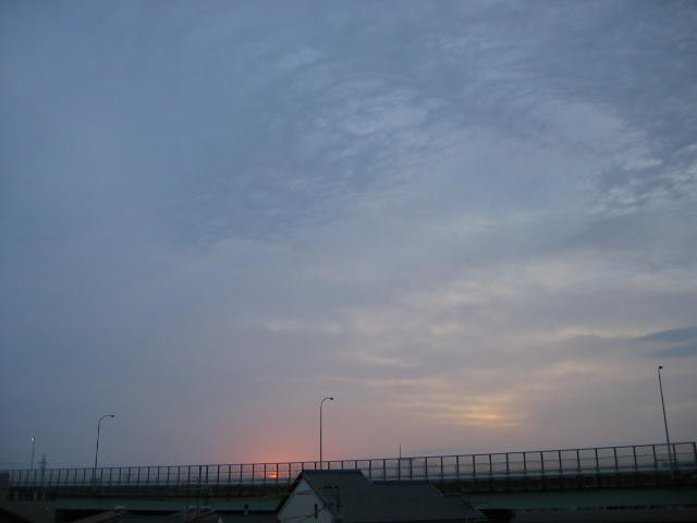 2013-11/10~屋上からの景色です。