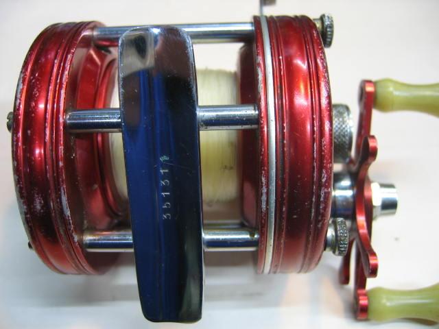 ABUの5000波型4スクリュウNO.351311-分解洗浄OILアップ済みです。下記にUPしています。¥17800