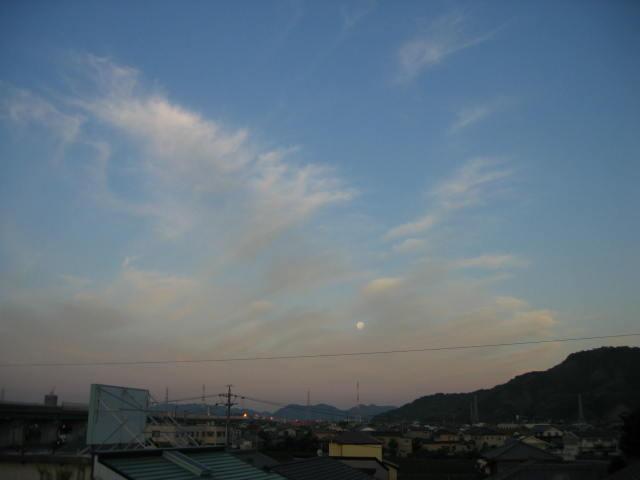 2014-6/14の夕焼けです。
