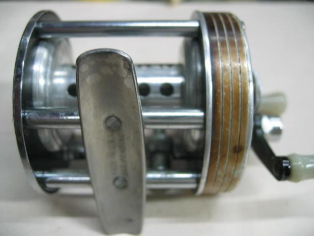 ラングレーのストリームライト(ゴールドボディー)ハンドル固着ナシ¥11000