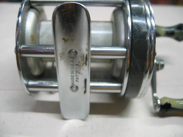 シェークスピアのワンダーDX、分解整備済みで回転良好でノブは固着ナシズバリ¥10500