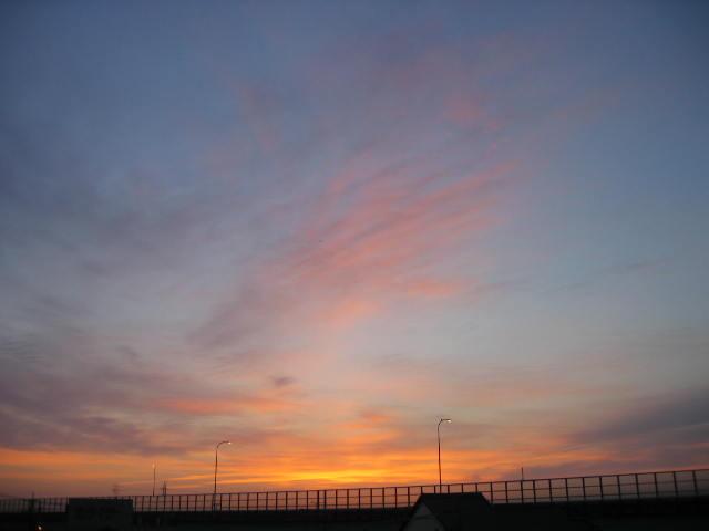 2013-11月9屋上からの景色です。