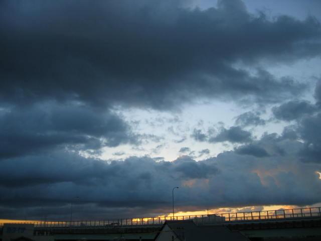 2013-11/11~屋上からの景色です。