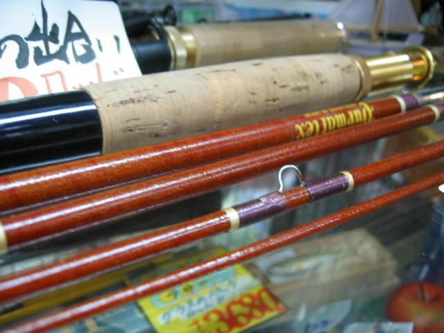 OLDの金属フェルールタイプのフライPacロッドです。¥15800 金属フェルールがとても綺麗です。