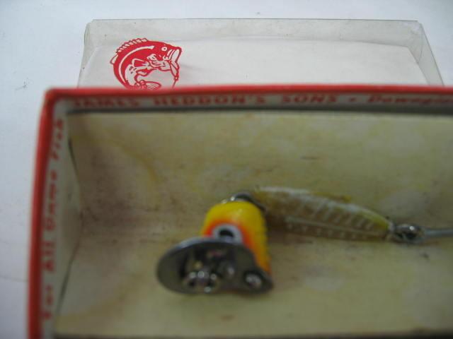 Heddonの箱付ルアーです。¥7800