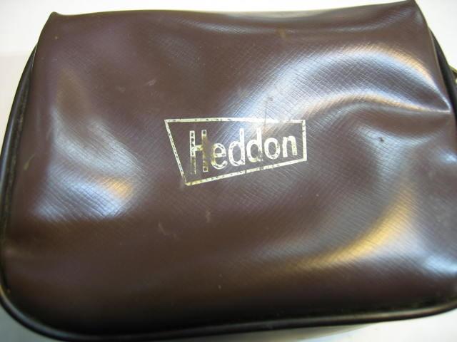 Heddonのヘリテージ、入れ物付きのダイレクトりールです。細部までじっくり見てください。¥22800