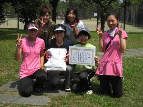 女子第3位 新宮テニス