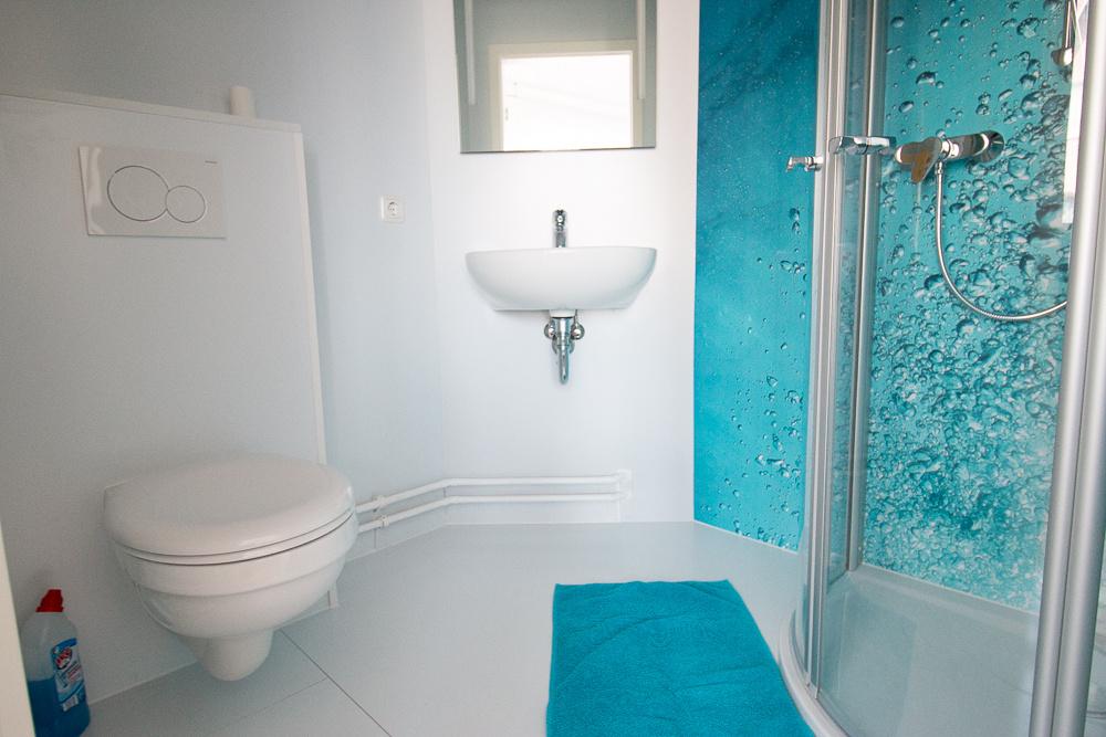 In diesem Zimmer steht Ihnen ein eigenes Badezimmer zur Verfügung.