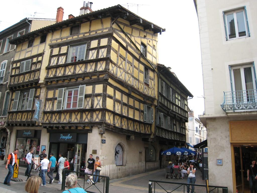 maison à colombages Bourg en Bresse