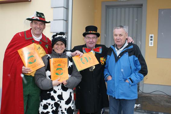 Markus, Nicola, Adolf und Kurt - Bäckerei Flachsmann