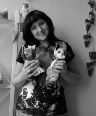 Ольга АрхиПушкина, интерьерные куклы и игрушки ручной работы