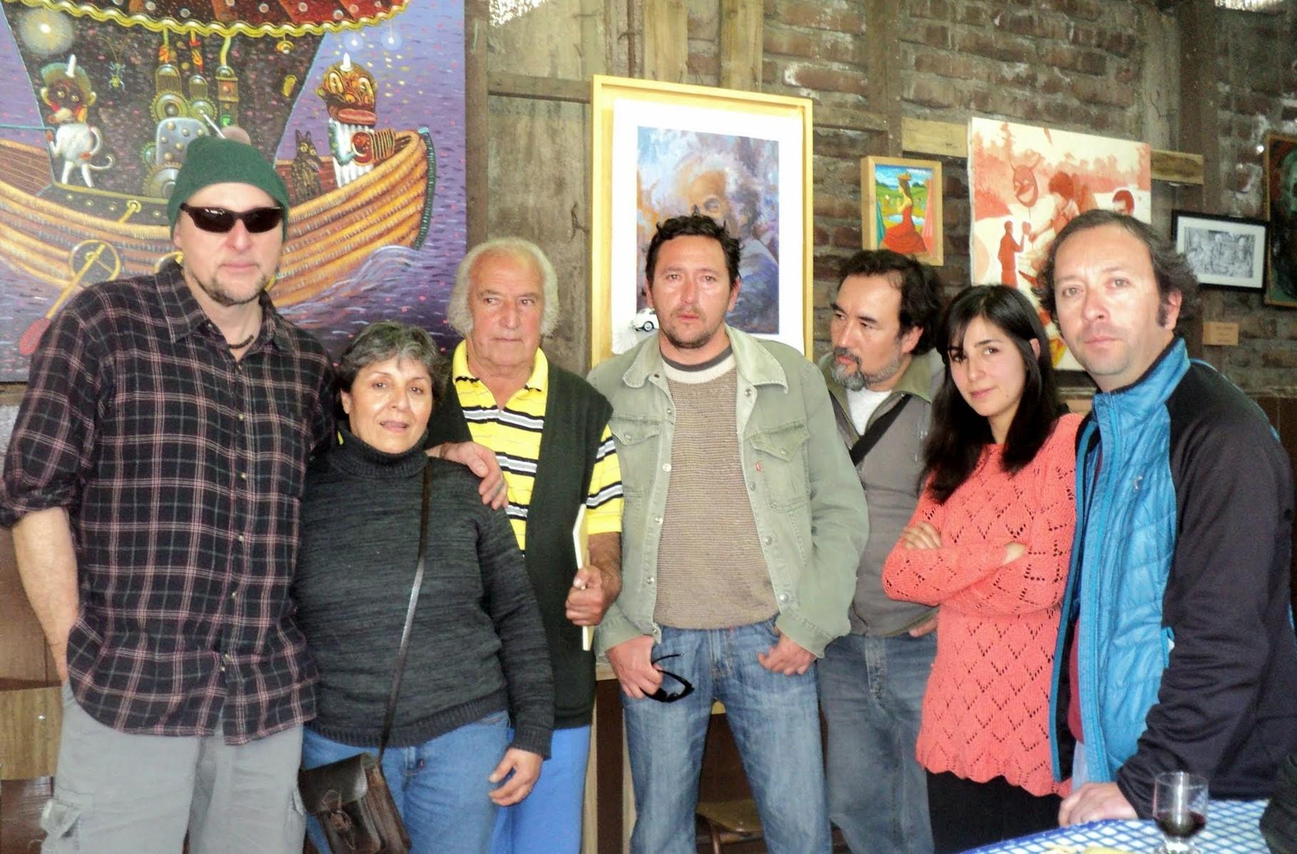 "Expo Colectiva ""HOMENAJE NICANOR PARRA"" Julio 2014"