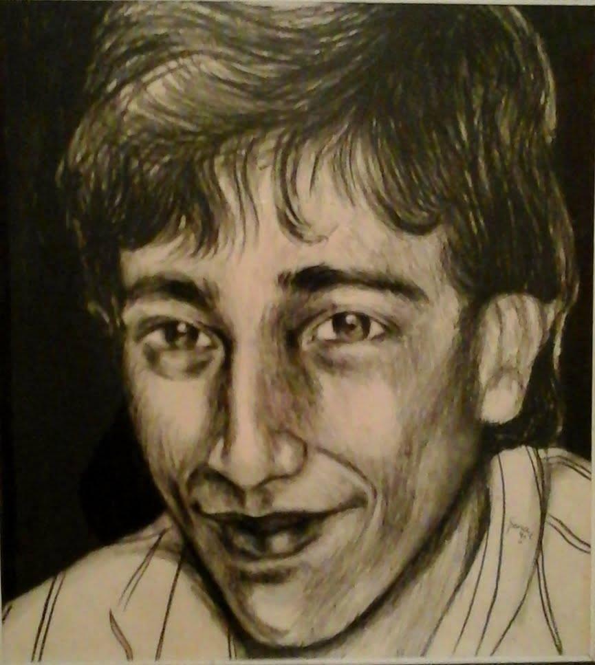 Manuel Soiza Ruiz - Retrato al Carbón (Propiedad familia Soiza Ruiz)