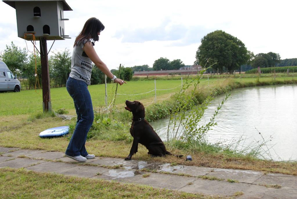 Mareike mit Bootsmann
