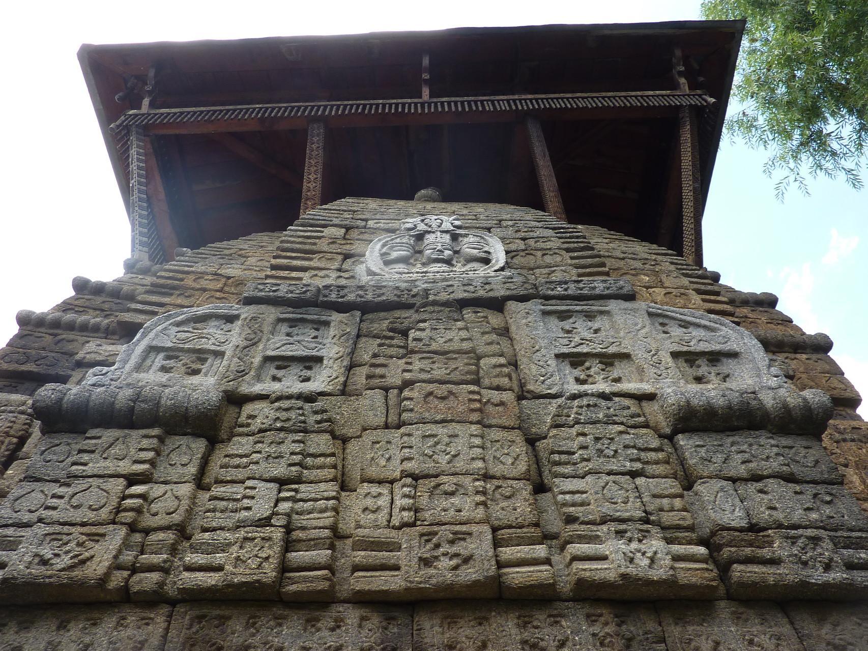 Temple Indouiste, Manali, Inde