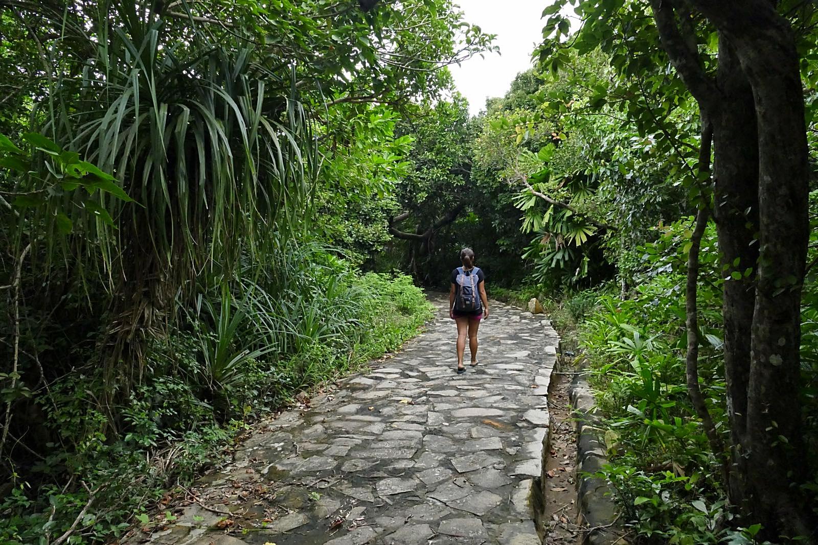 Eine kleine Wanderung durch den Con Dao Nationalpark