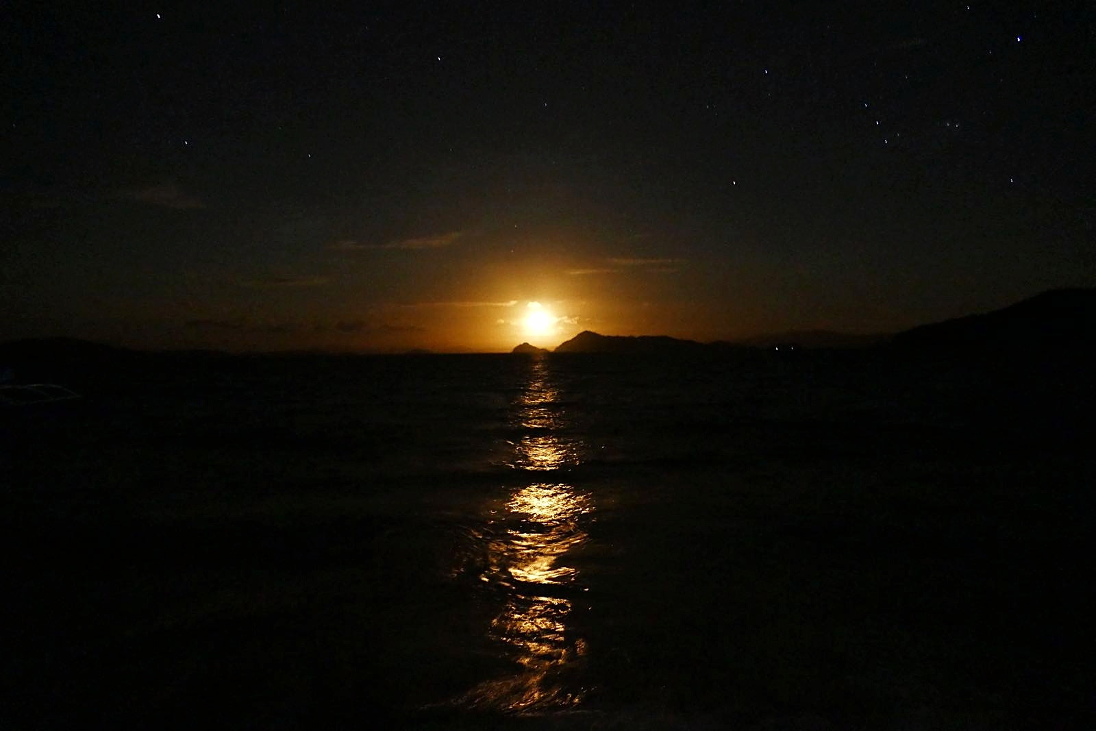 Der Mond Aufgang - wow