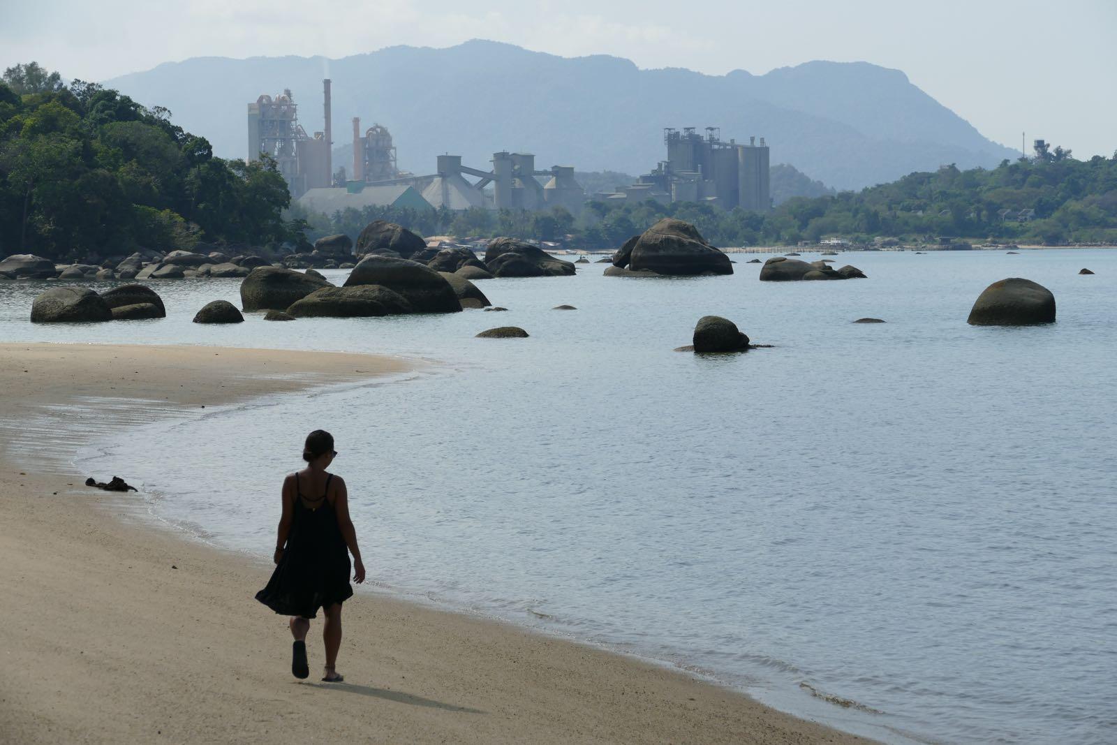 Black Sand Beach, Langkawi