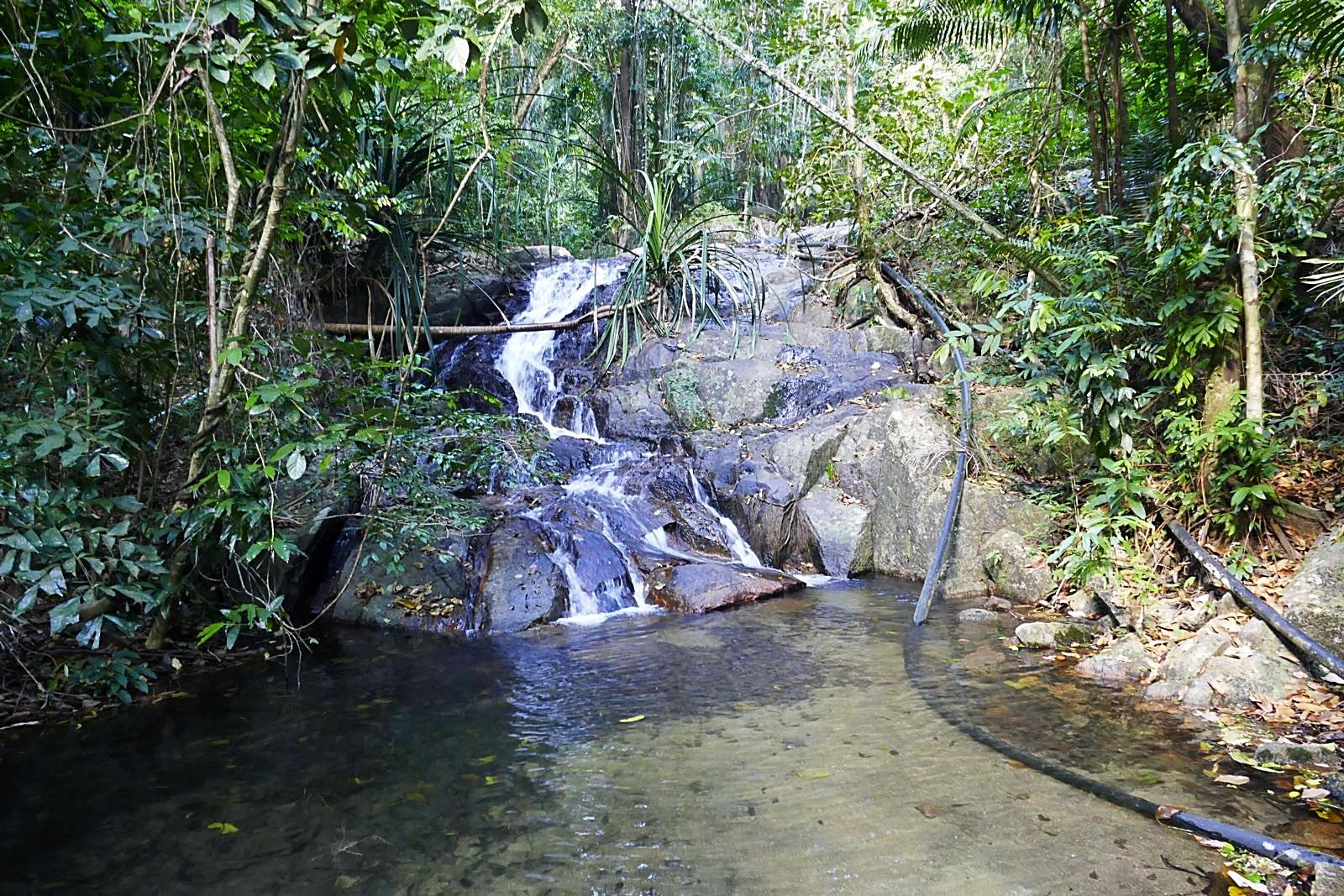 Der Wasserfall in Koh Adang