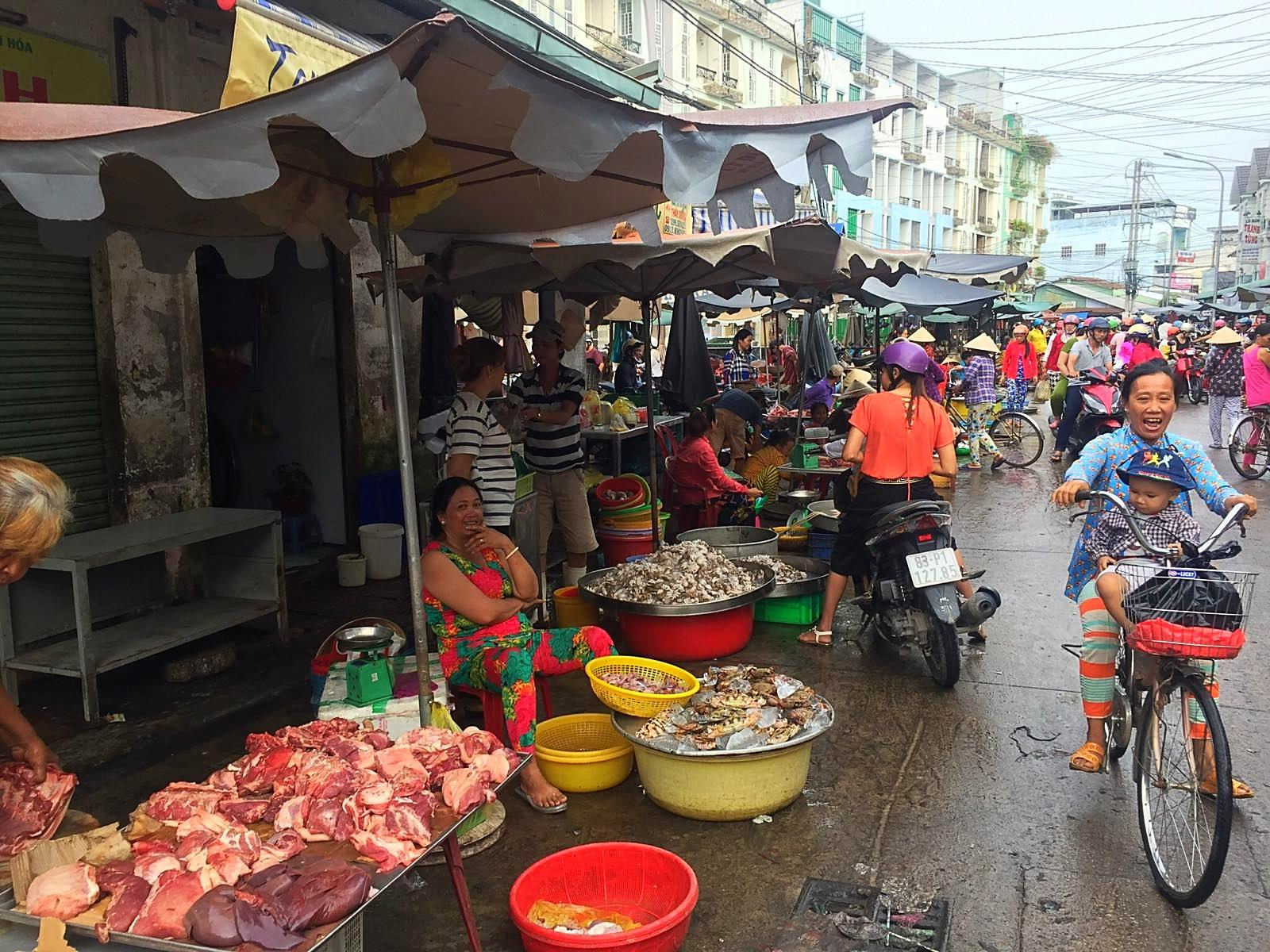 Der Markt in Soc Trang