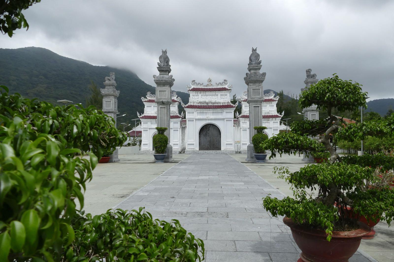 Ein Tempel in Con Dao