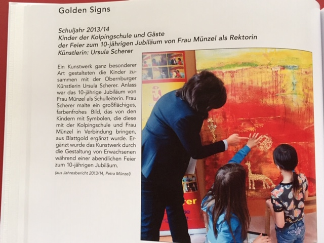 Auszug aus dem KolpingArt 1 Buch 2020 / golden-signs® 2014 / ursula-scherer.com