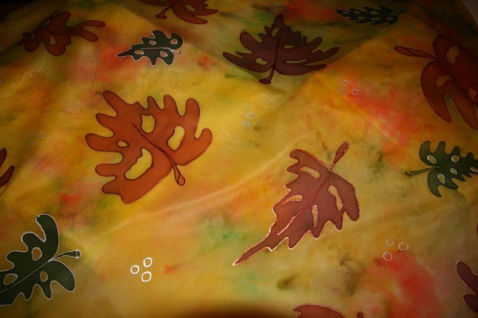 Seide ... Herbstmotiv