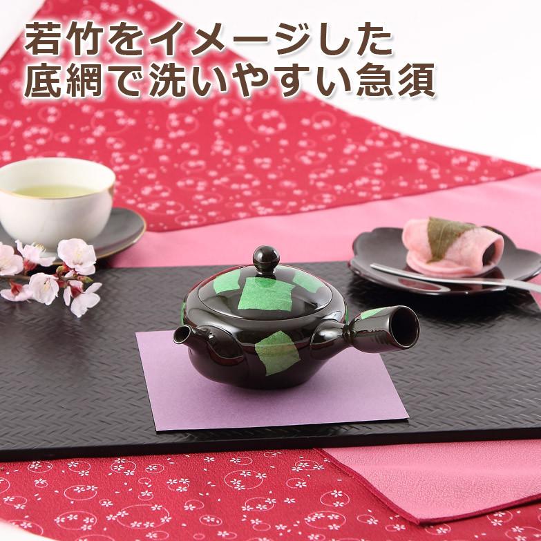 【九谷焼×萬古焼「急須」】小 銀彩ミドリはこちらから