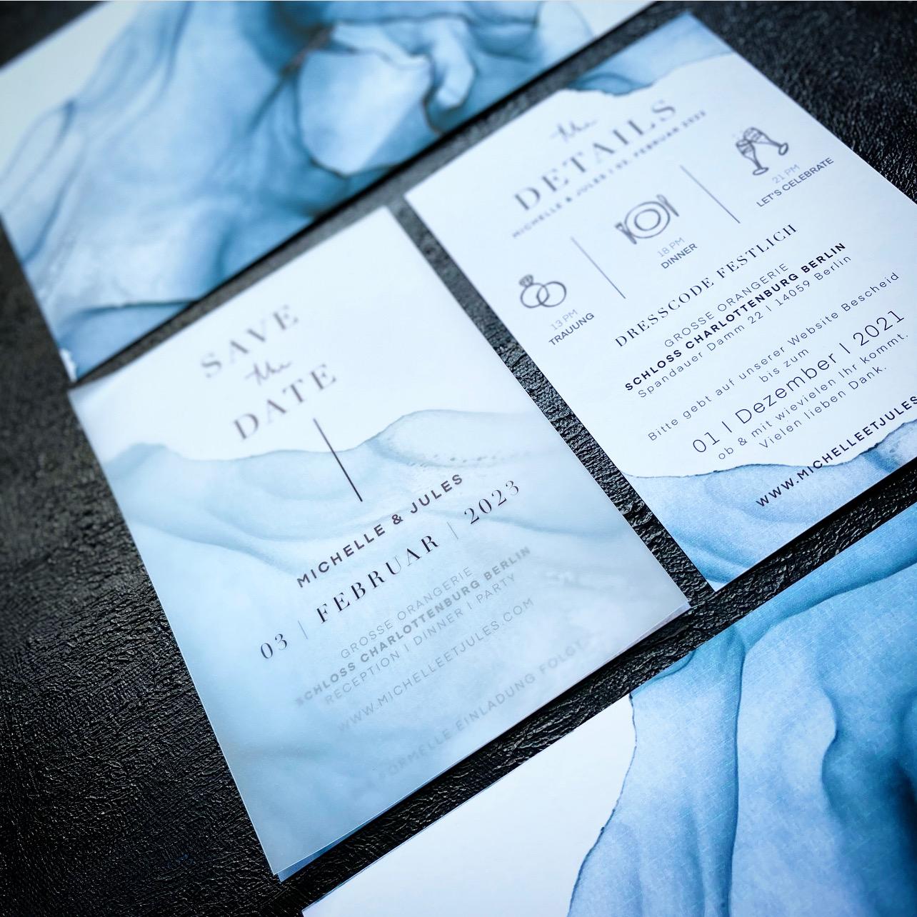Unique Wedding Stationery | edgy · urban · luxuriös